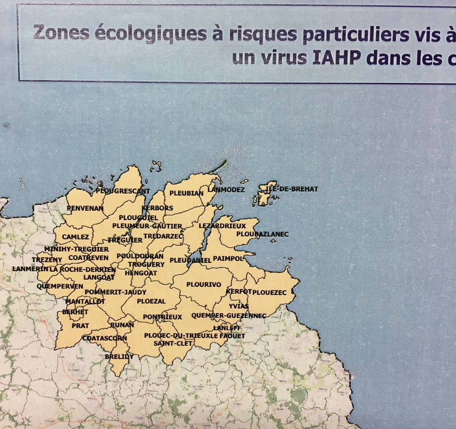 Cartes zones ecologiques