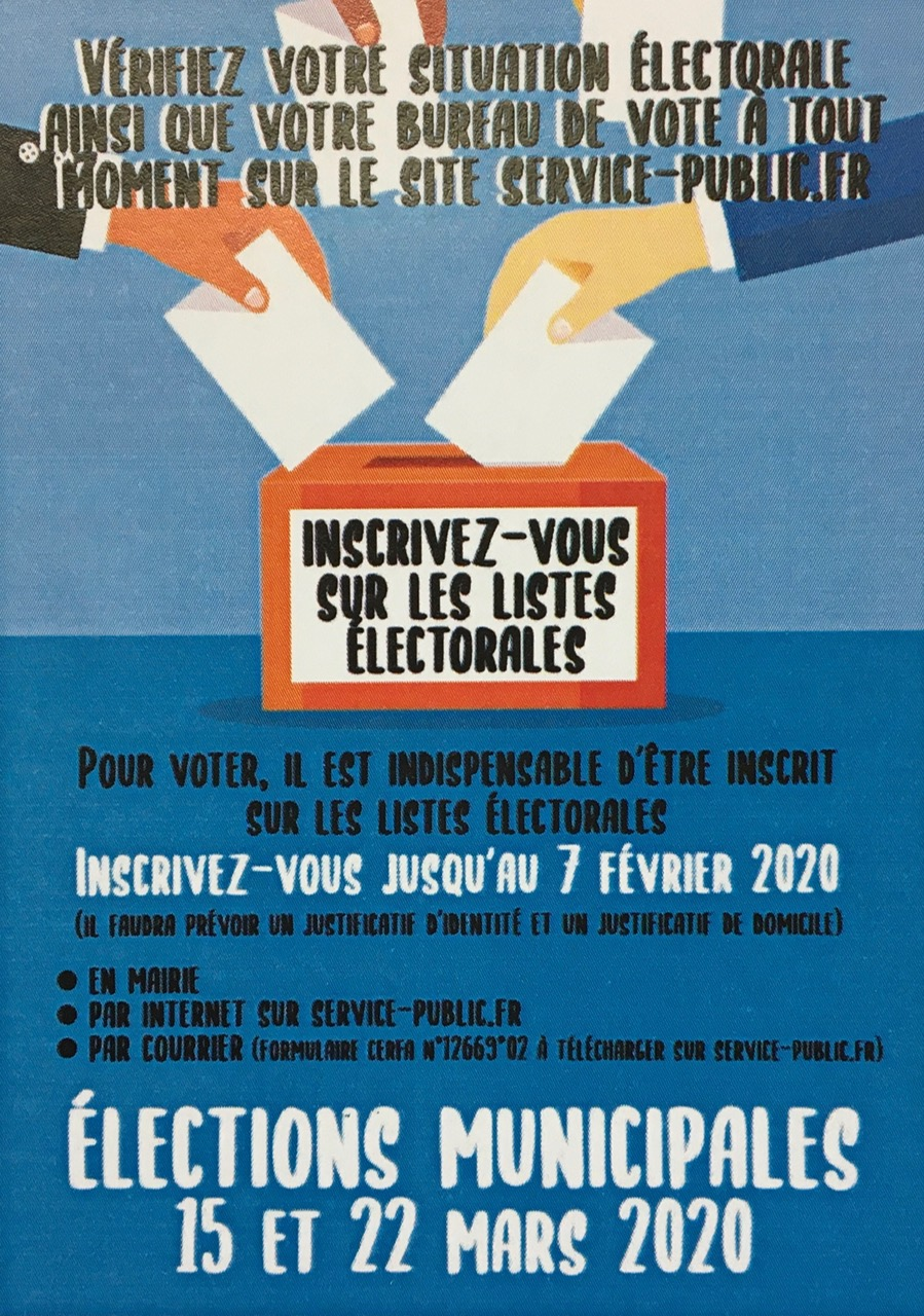Inscription liste electorale