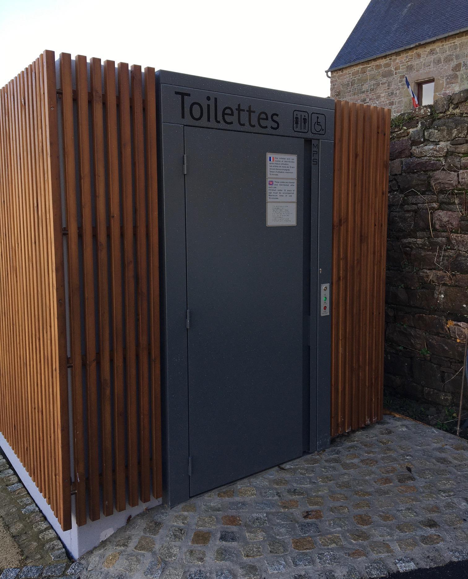 Toilette site communal